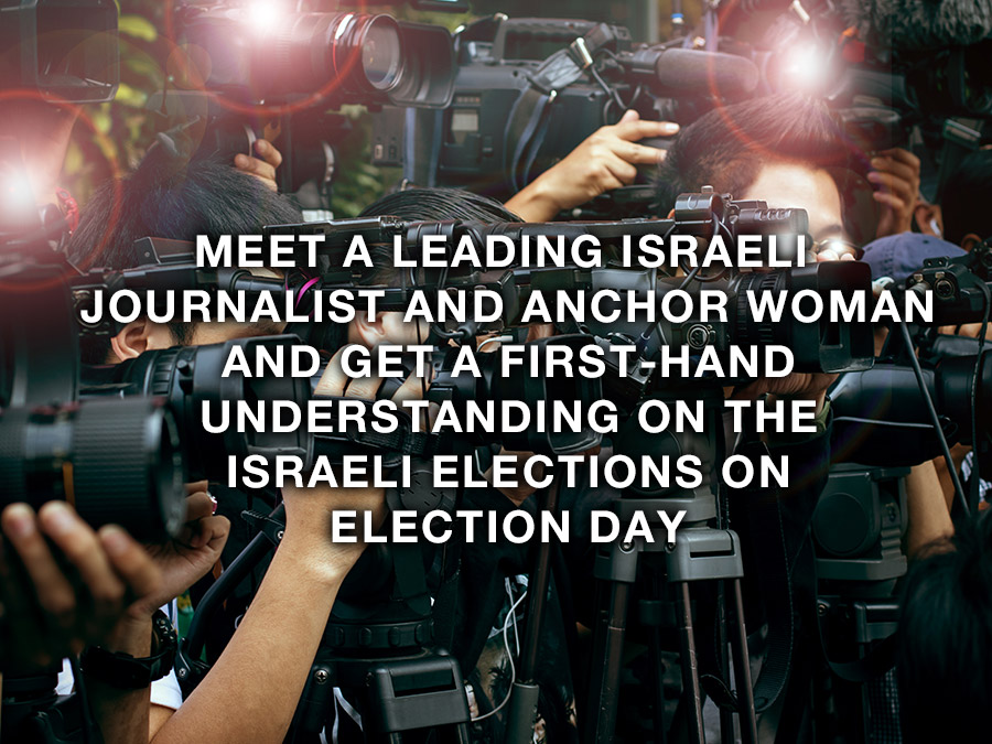 IsraelBonds WD Intl Delegation 2020 Journalist