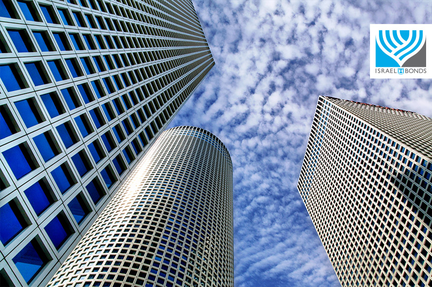 Soaring Azrieli Towers of Tel Aviv, Israel